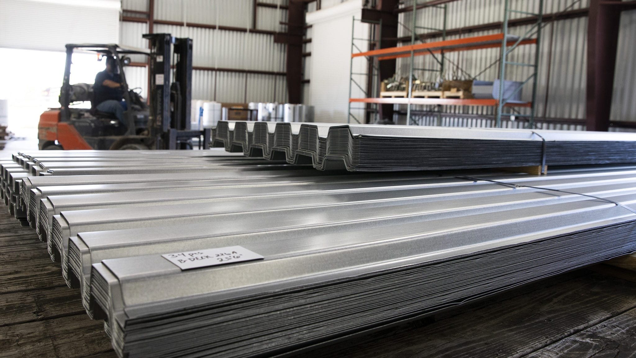 We stock a wide variety of deck available for quick shipment.